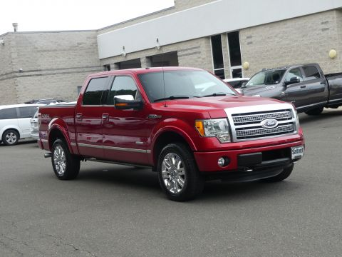 2012 Ford F-150 4WD SuperCrew 145 Platinum