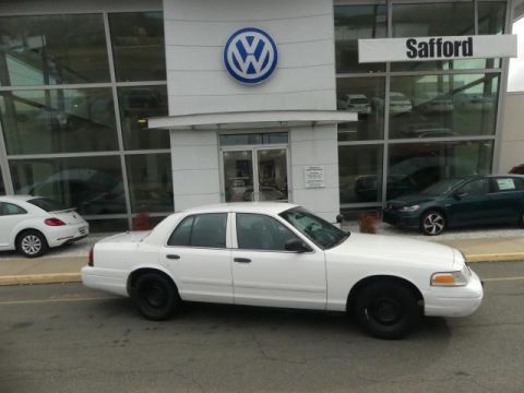 Pre-Owned 2001 Ford Crown Victoria Police Pkg 4dr Sdn Police Interceptor
