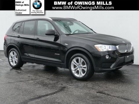 2017 BMW X3 xDrive35i Sports Activity Vehicle