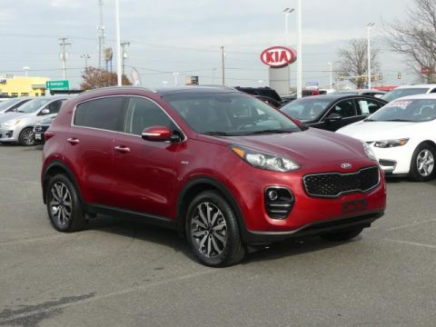 Certified Pre-Owned 2017 Kia Sportage EX AWD